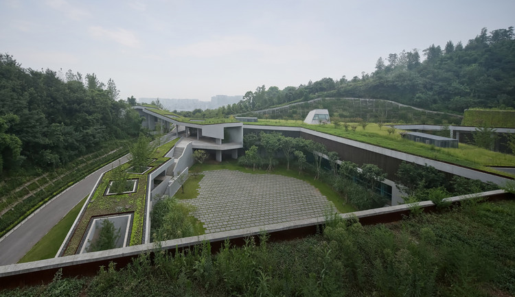 Chongqing Taoyuanju Community Center  / Vector Architects, © Su Shengliang