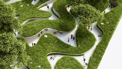 Penda Designs River-Inspired Landscape Pavilion for China's Garden Expo