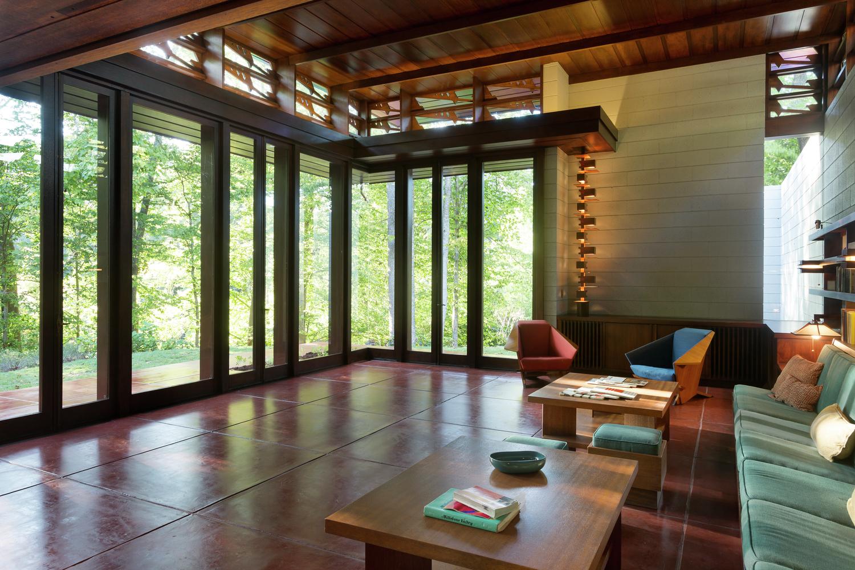 At Crystal Bridges Museum, Frank Lloyd Wrightu0027s Bachman Wilson House  Reframes Architecture As Art