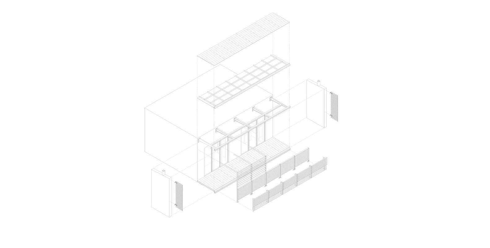 Gallery of housing l influx architecture 34 housing lbalcony diagram pooptronica
