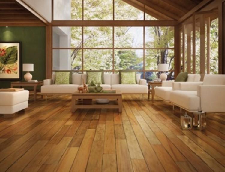 Conheça as vantagens e as formas de aplicação dos pisos em madeira maciça, © Via Indusparquet