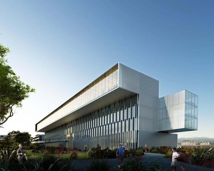 Rafael de La-Hoz Designs New Headquarters for Real Madrid, Courtesy of Rafael de La-Hoz Arquitectos