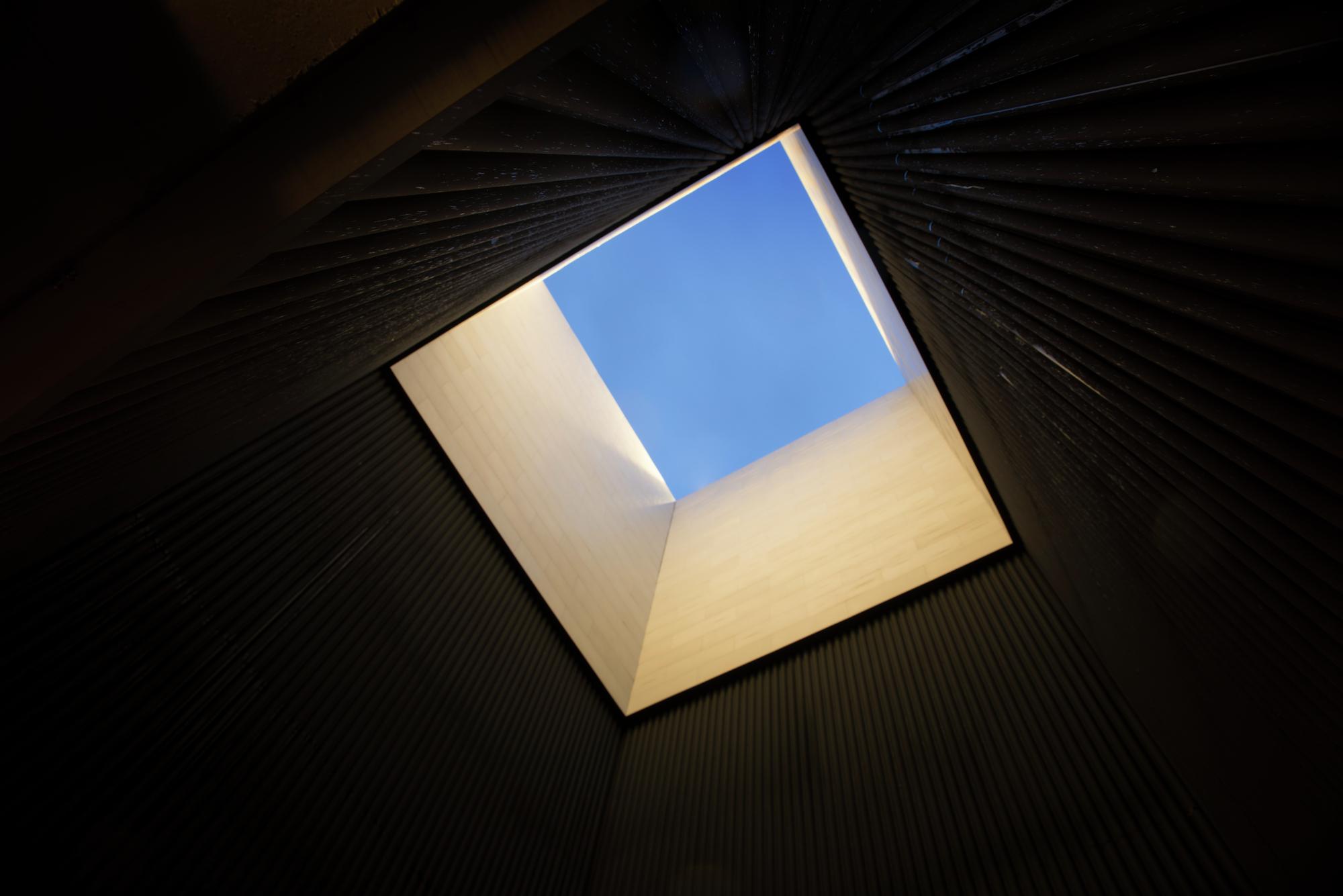 En detalle reinterpretaci n de un cubo de iluminaci n por for Arquitectura materias