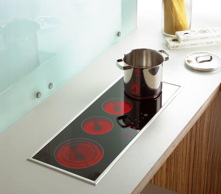 Materiales cocinas encimeras archdaily per for Cocina con vitroceramica