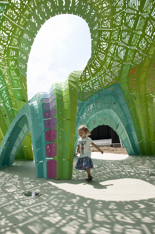 "Marc Fornes / THEVERYMANY Completes Their Latest ""Structural Shingle"" Project in France , © MARC FORNES & THEVERYMANY"