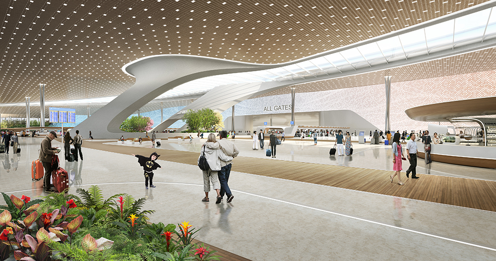 UNStudio Proposes User-Centric Design for the Taiwan Taoyuan International  Airport