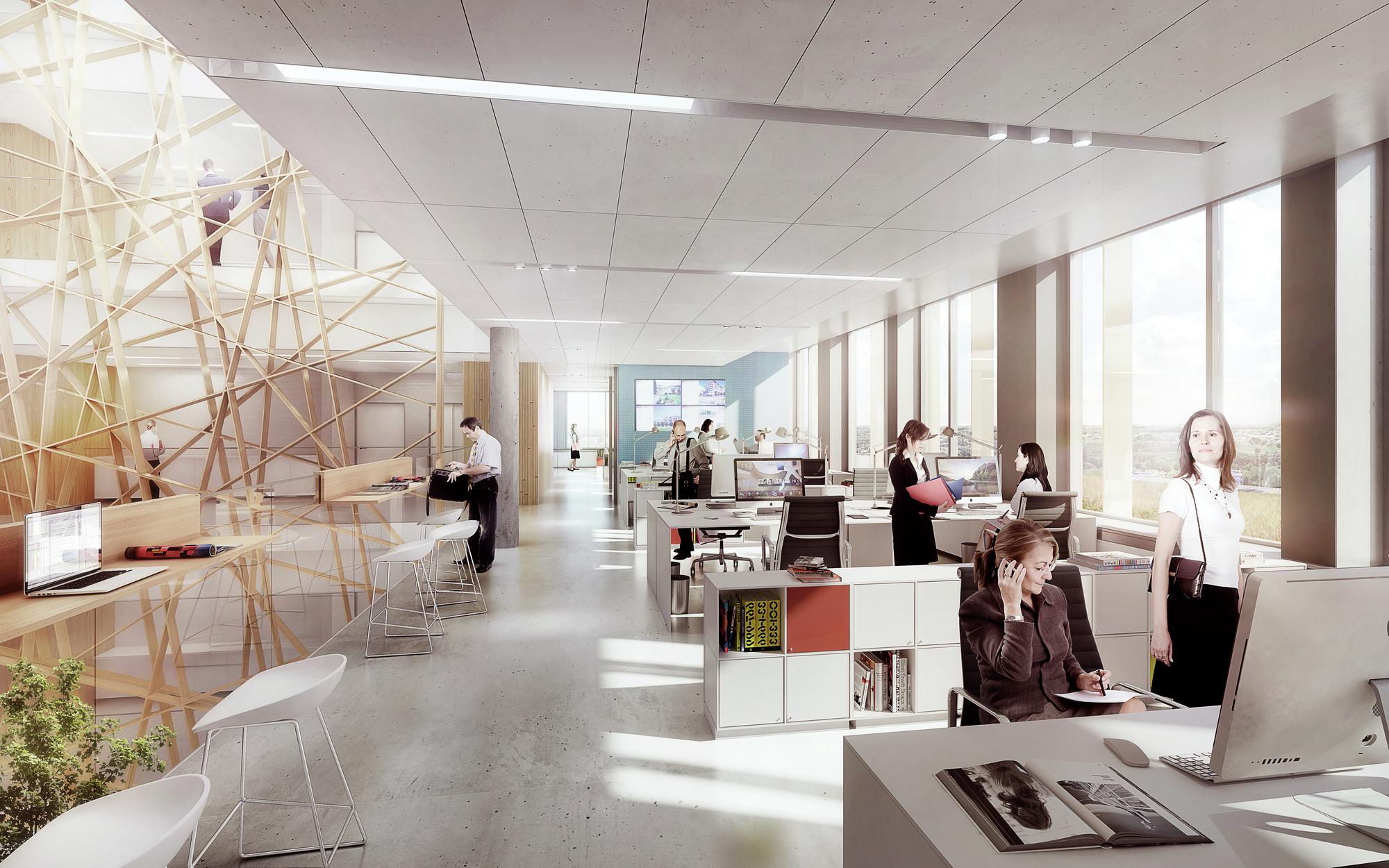 Galeria de arkitema projeta edif cio de escrit rios para a for America s top interior designers