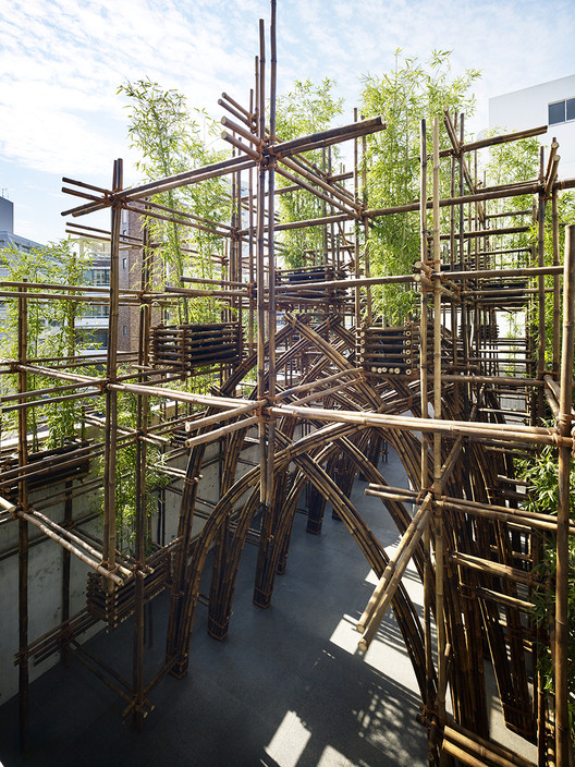 Bamboo Forest / VTN Architects, © Yoshifumi Moriya