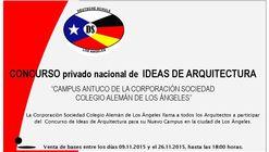 """CONCURSO PRIVADO NACIONAL DE IDEAS DE ARQUITECTURA """"CAMPUS ANTUCO DE LA CORPORACION SOCIEDAD  COLEGIO ALEMAN DE LOS ANGELES"""""""