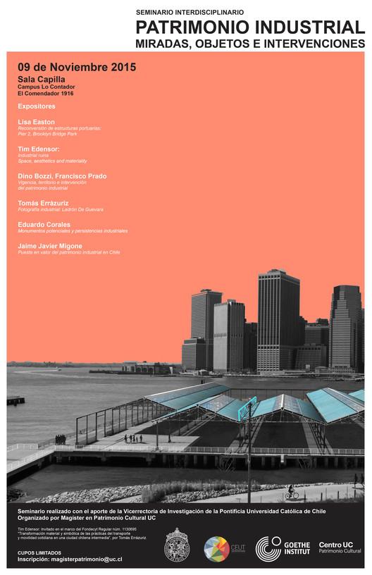 """Seminario Interdisciplinar """"Patrimonio Industrial. Miradas, Objetos e Intervenciones."""", Paula Lavados"""