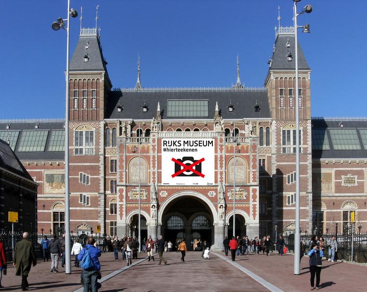 """""""The Big Draw"""": Rijksmuseum lança campanha de incentivo ao desenho, Rijksmuseum  em Amsterdã (2015). Imagem © Rijksmuseum"""