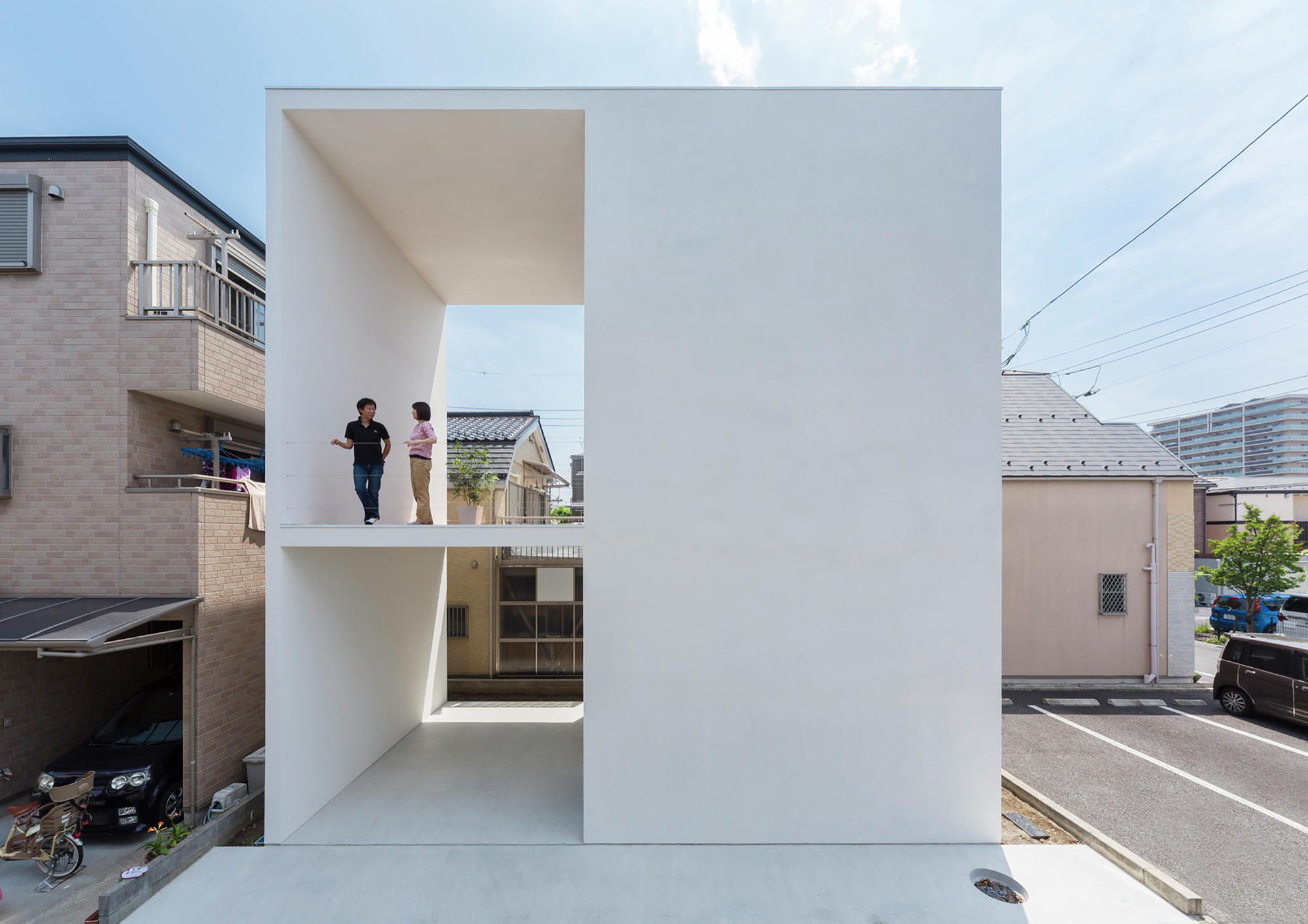 Little House With A Big Terrace Takuro Yamamoto Architects Archdaily
