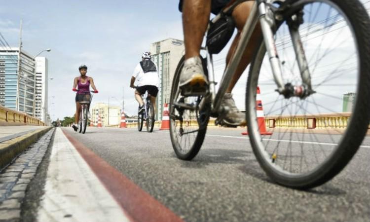 Servidores públicos de Pernambuco terão folga por irem de bicicleta ao trabalho, © Andrea Rego Barros/Divulgação