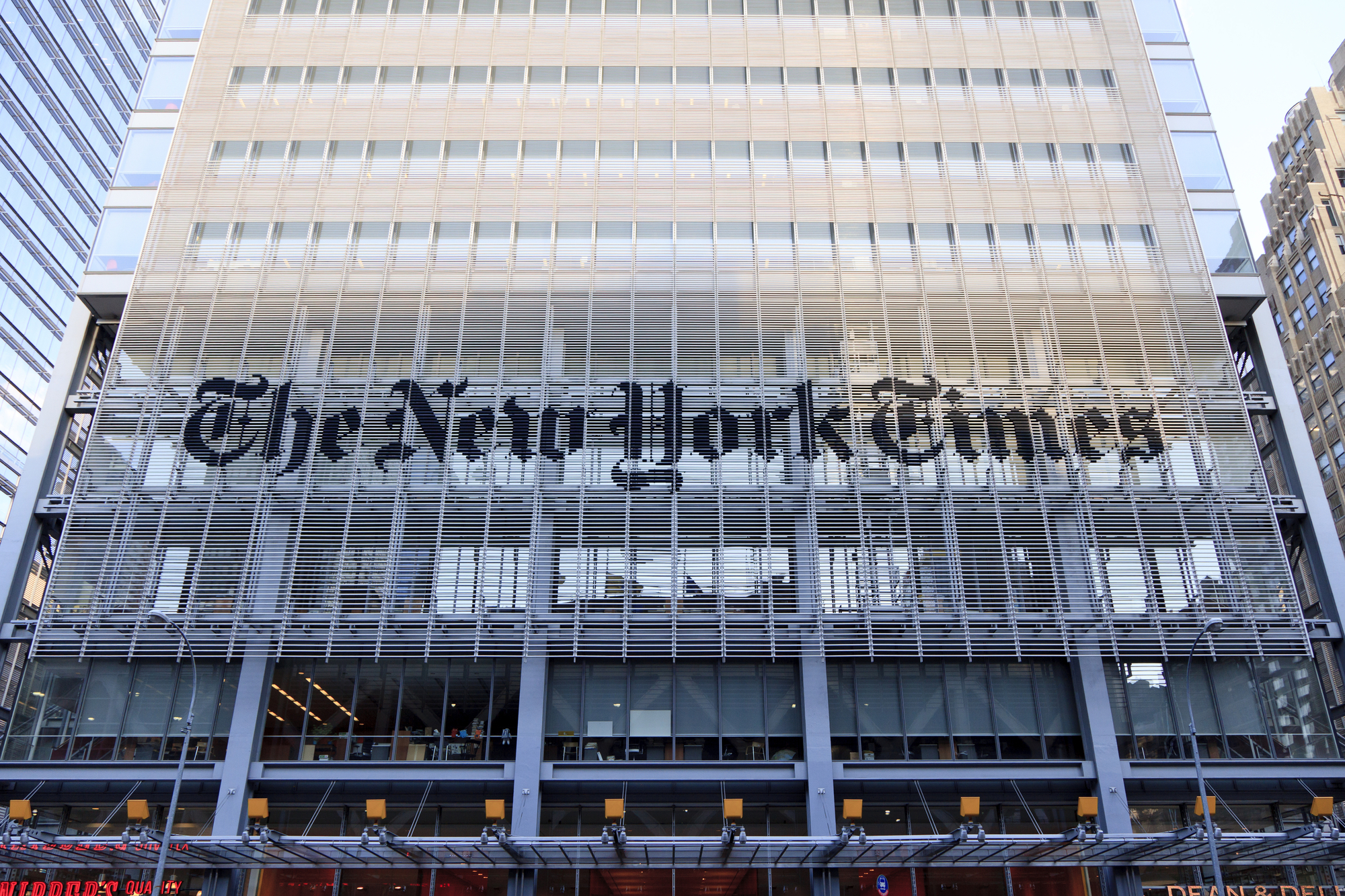New York Times Building Renzo Piano Archdaily