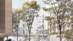 KHR Arkitekter, WHR Architects and Arup International Design Bispebjerg Somatic Hospital