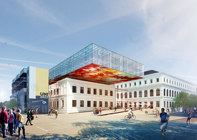 Atelier Thomas Pucher to Expand and Renovate the University of Graz's Main Library, Courtesy of Atelier Thomas Pucher