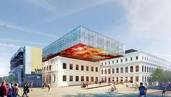 Atelier Thomas Pucher ampliará y remodelará bibilioteca central de la Universidad de Graz