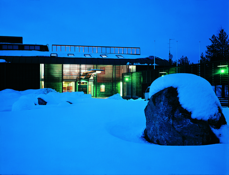 Juhani Pallasmaa on Writing, Teaching and Becoming a Phenomenologist, Sámi Lapp Museum, Inari, Lapland. 1998. Image © Rauno Träskelin