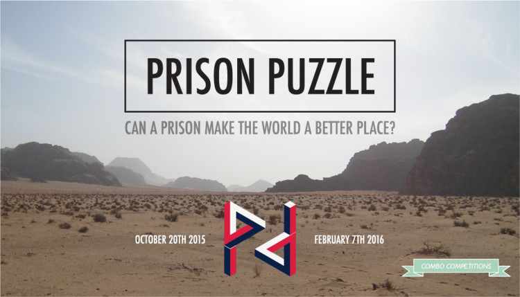 Call for submissions: Prison Puzzle, Prison Puzzle: can a prison make the world a better place? (Copyright Combo Competitions)