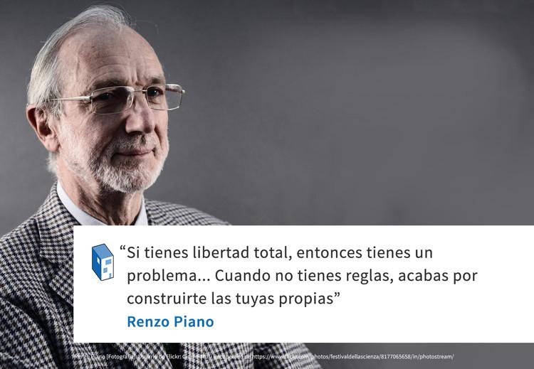 Frases: Renzo Piano y la libertad