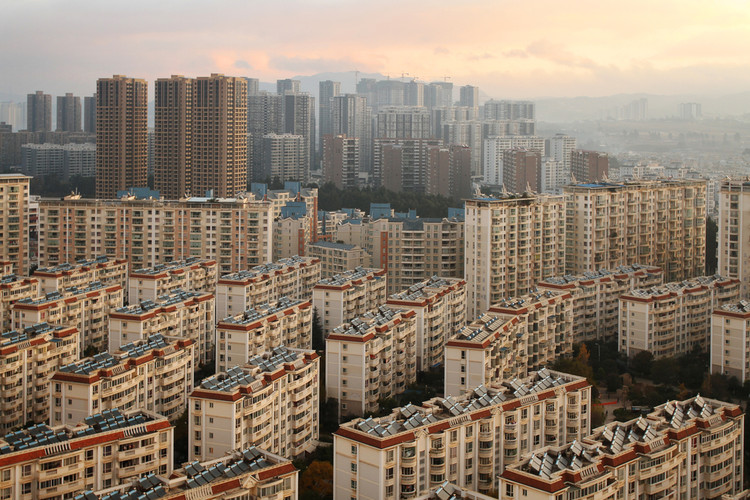 Using Big Data to Determine the Extent of China's Ghost Cities, Chenggong. Image © Barnaby Chambers via Shutterstock.com