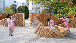 Pixel Wall / HKU Department of Architecture