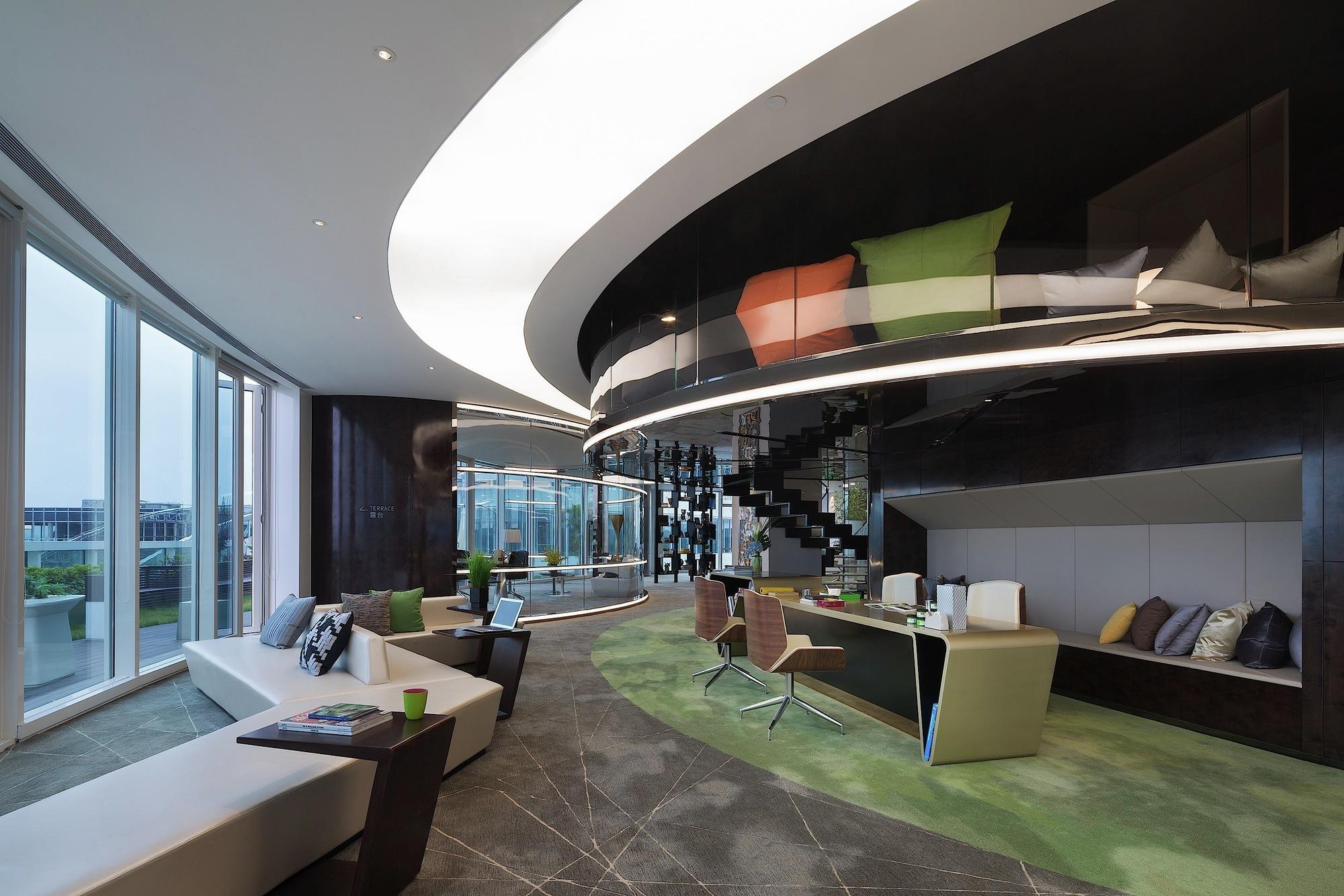 Art Design International : Galería de edificio del centro mundial diseño hongqiao