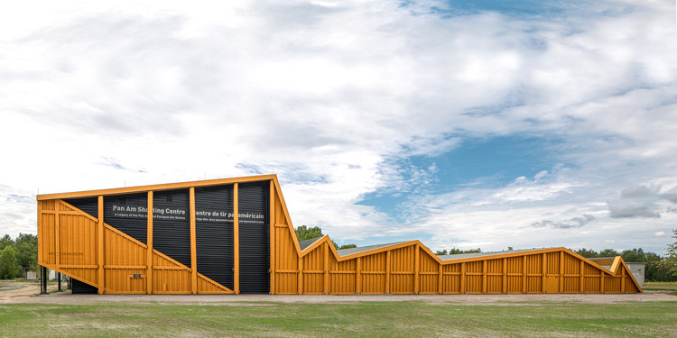 Shooting Range in Ontario / Magma Architecture, © Christie Mills