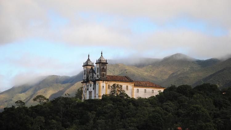 UNESCO lança publicações sobre sítios arqueológicos e patrimônios mundial e imaterial no Brasil, Igreja de São Francisco de Paula. Image © Leandro Neumann Ciuffo, via Flickr. CC