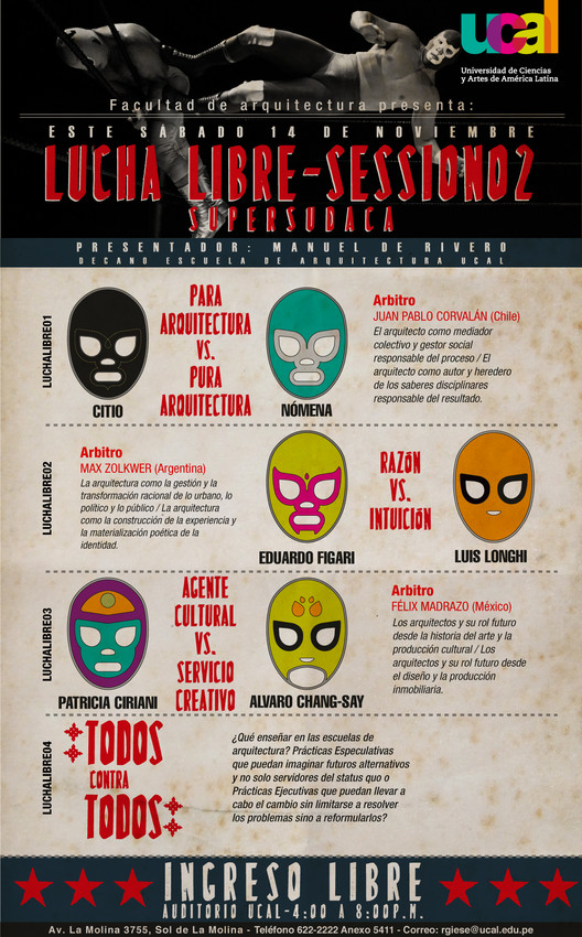 Lucha Libre - Session2 / UCAL