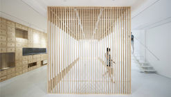 Folding Screen, Rongbaozhai Western Art Gallery / ARCHSTUDIO