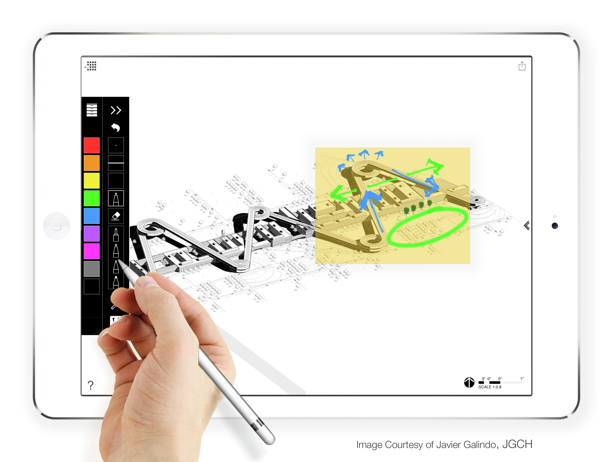 architectural drawing app AD App Guide: Morpholio Releases TracePro for iPad Pro | ArchDaily