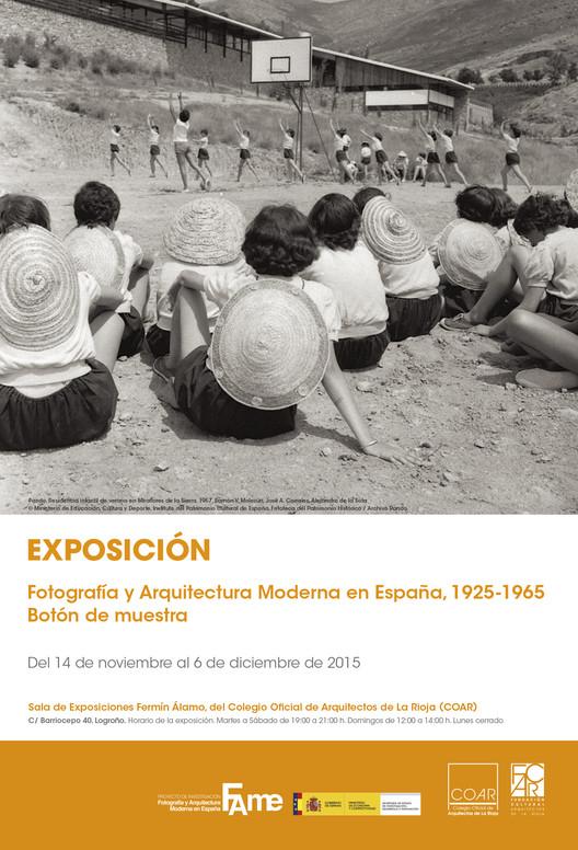 Exposición: Fotografía y arquitectura moderna en España 1925‐1965, Pando Residencia infantil de verano en Miraflores de la Sierra. Fototeca del Patrimonio Histórico / Archivo Pando