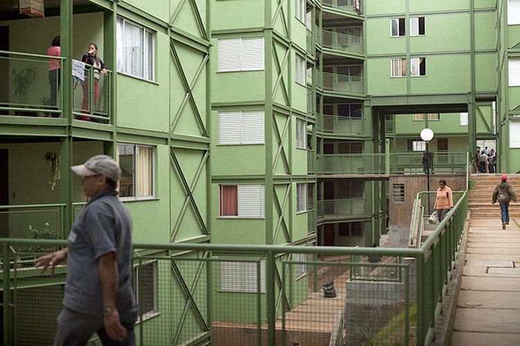 FNA divulga vencedores do 10º Prêmio Arquiteto e Urbanista do Ano, Mutirão Paulo Freire (Cidade Tiradentes, São Paulo - SP). Image via USINA-CTAH