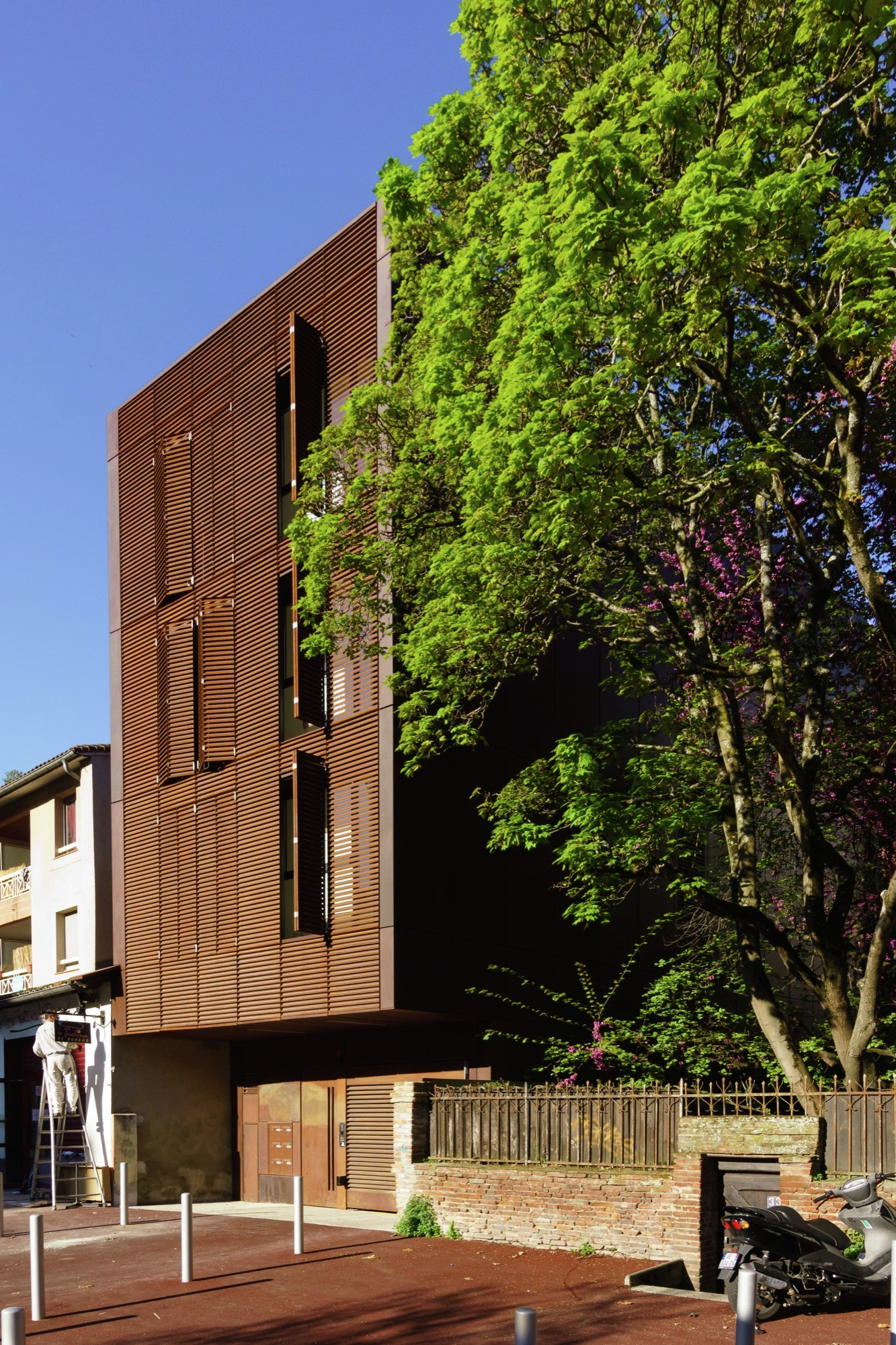 galer a de residencia yaoitcha taillandier architectes associ s 2. Black Bedroom Furniture Sets. Home Design Ideas