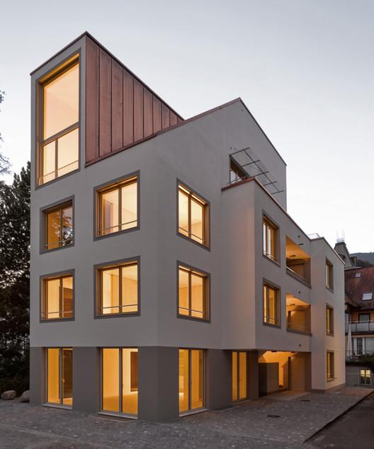 Edificio Residencial en Sarnen / Durrer Architekten, © Martin Wittwer