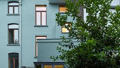 比利时台阶式住宅翻修项目 / Edouard Brunet + François Martens