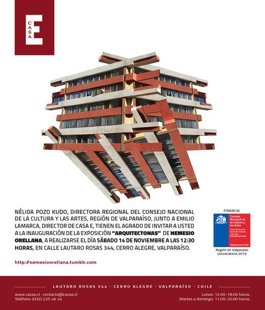 Presentación del proyecto 'Arquitectonas', casa E, Nemesio Orellana.