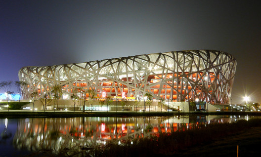 Beijing National Stadium. Image Courtesy of IAKS