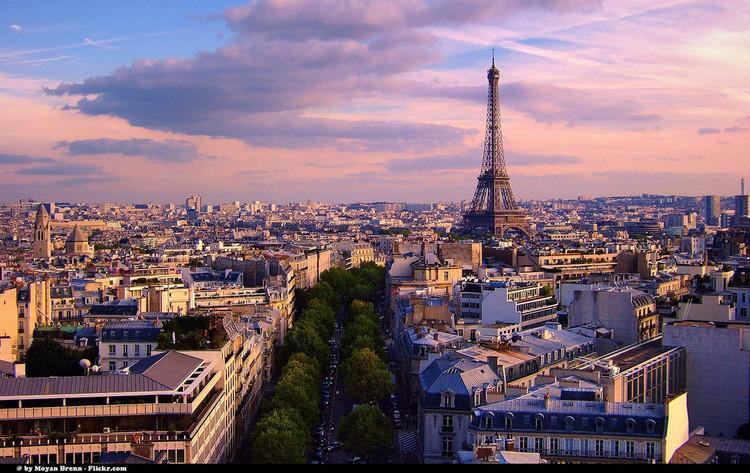 Paris pretende dedicar 25% de seu território a áreas verdes até 2020, Paris, França. © Moyan_Brenn. Imagem via Flickr