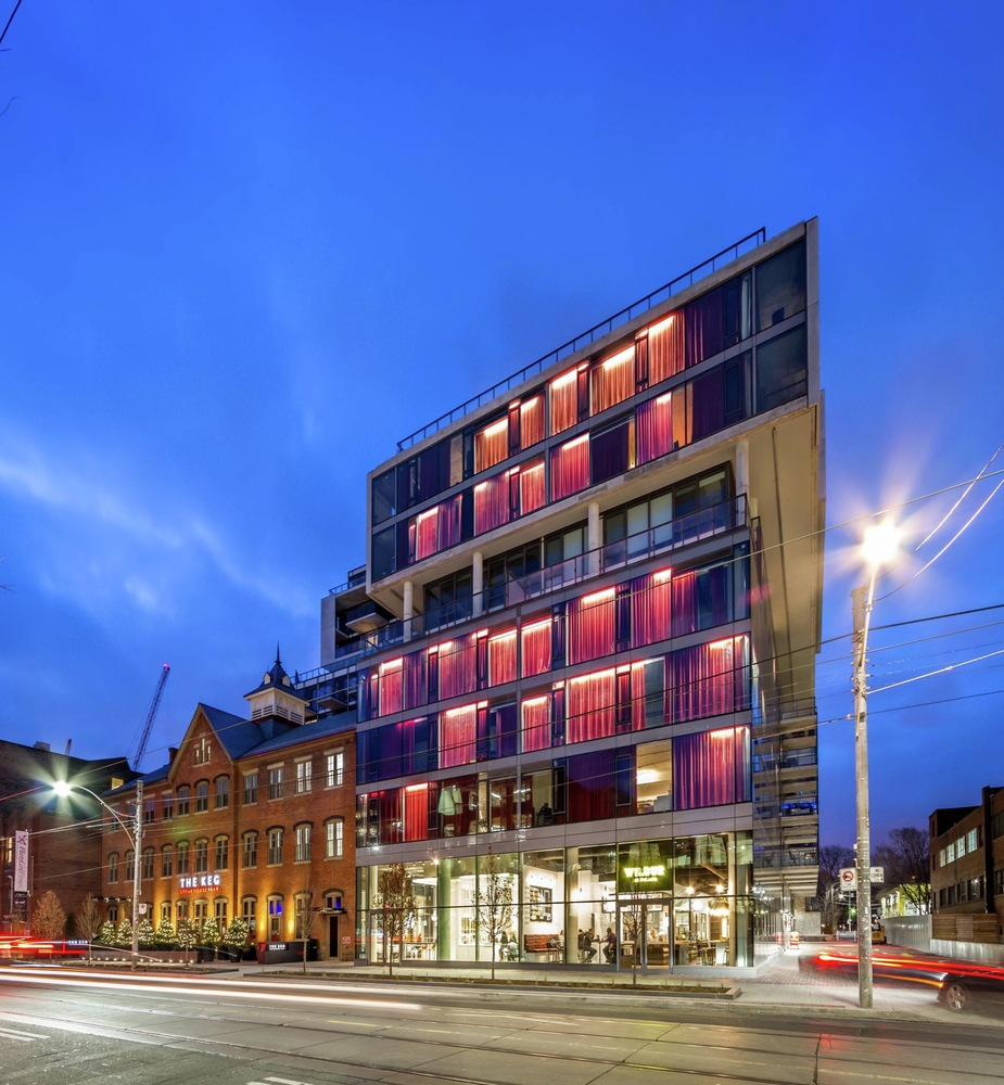 High Quality Fashion House,Courtesy Of CORE Architects Inc.