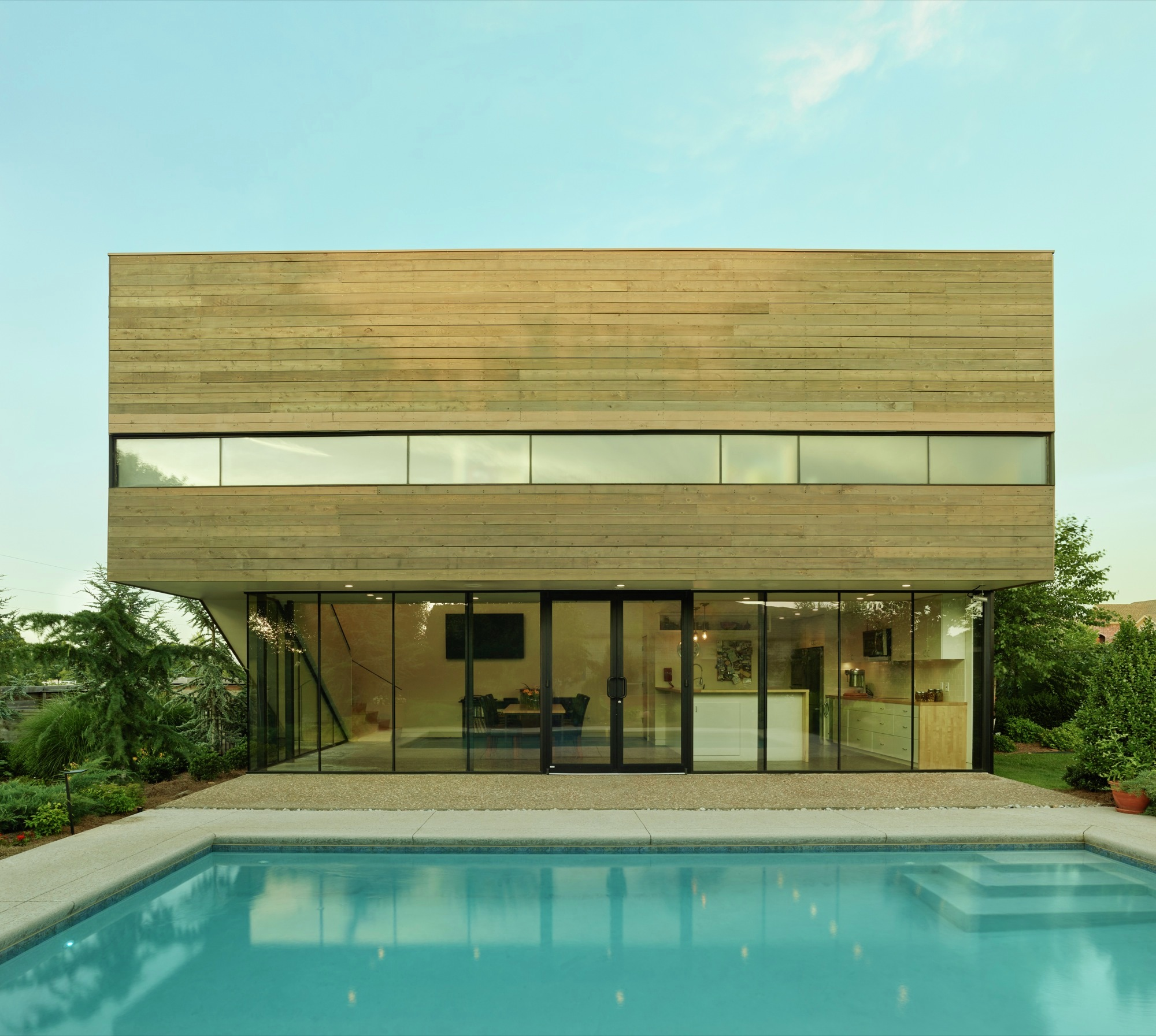 Gallery of srygley pool house marlon blackwell architect 2 for Home designer architectural