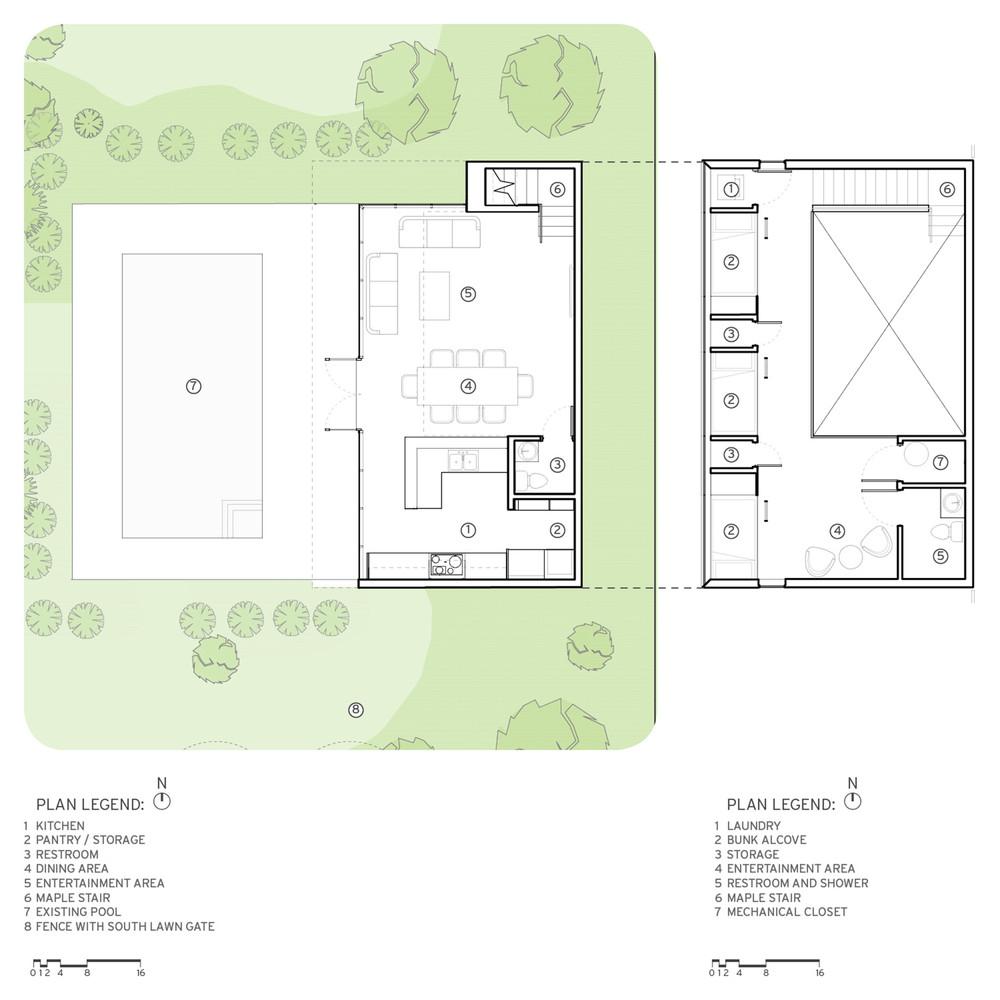 Gallery of Srygley Pool House Marlon Blackwell Architect 15 – Pool House Floor Plans With Bathroom
