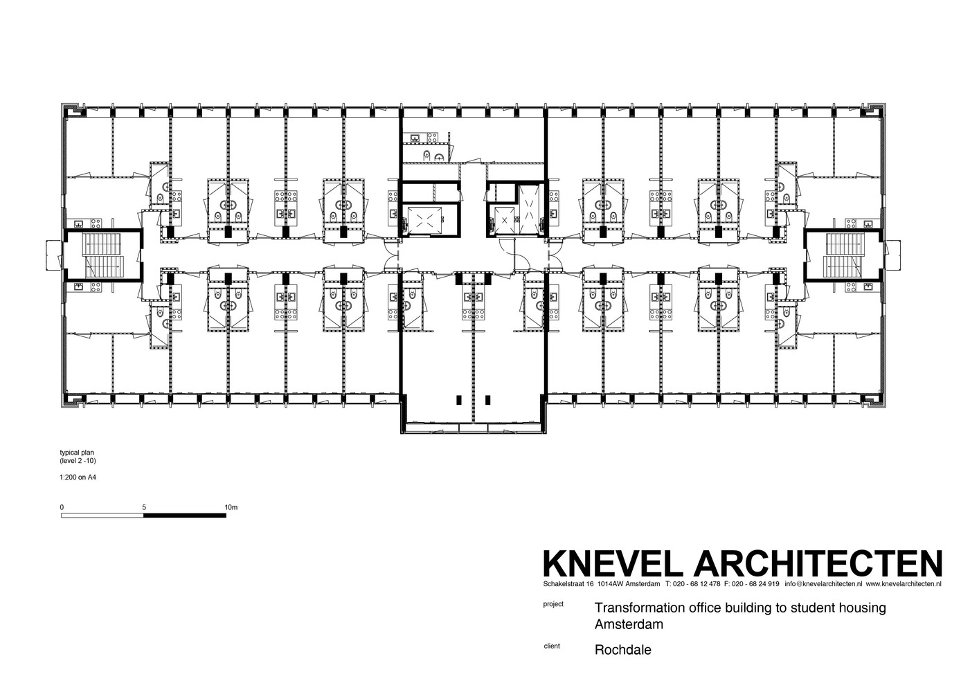 Gallery of Student Housing in Elsevier Office Building Knevel – Student Housing Floor Plans
