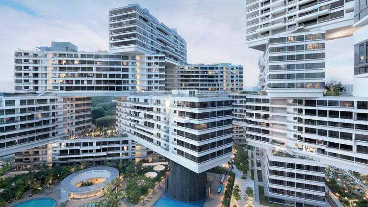 Monocle 24 Report from the World Architecture Festival, The Interlace / OMA. Image Courtesy of WAF