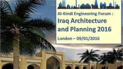 Conference: Iraq Architecture and Planning 2016