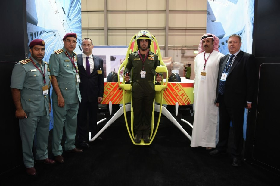 Gallery of Dubai Will Provide Jetpacks to Firefighters to