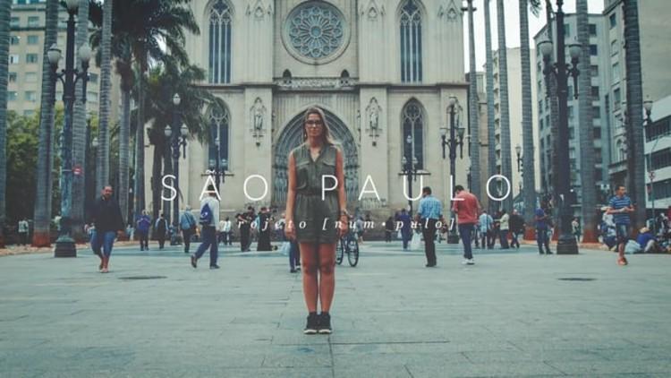 Arte e Arquitetura: Num Pulo / Daniel Negreiros + Paula Albino
