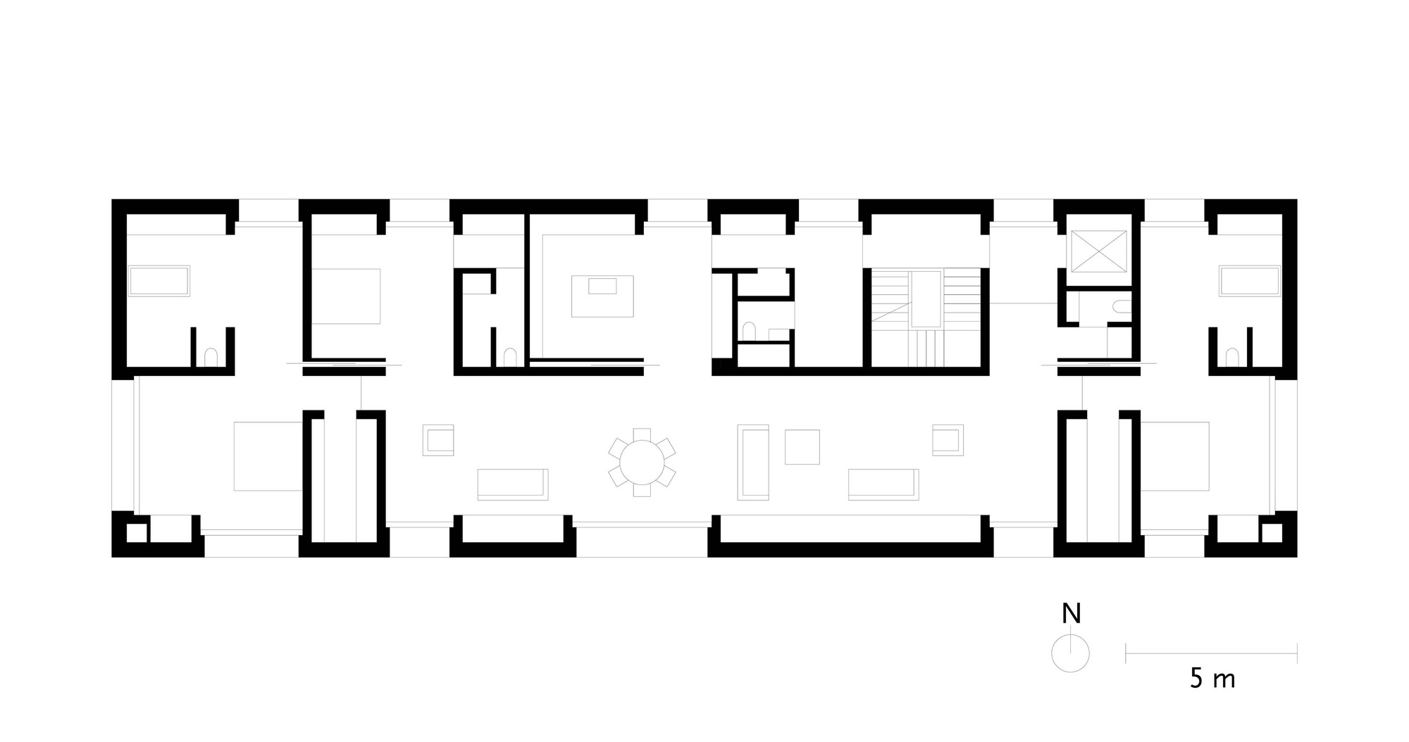 Glass Farmhouse West 37th Street Studio Condo Manhattan likewise Apartment Floor Plans 20x40 2 Floor further 900 Square Feet 2 Bedrooms 1 Bathroom Country House Plans 0 Garage 23942 additionally 127719339405678039 likewise 5649371de58ecee8fb000426 Xixi Wetland Estate David Chipperfield Architects Plus Floor Plan. on 1 br apt floor plan