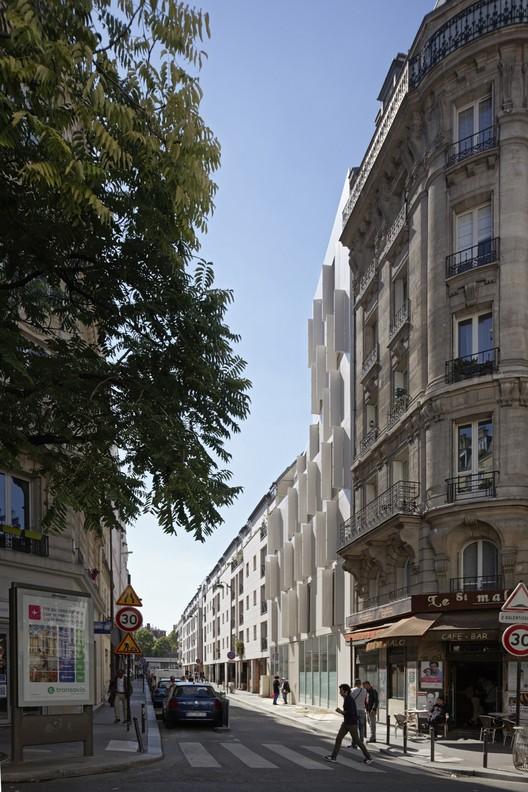 Habitação Coletiva em Paris / Projectiles
